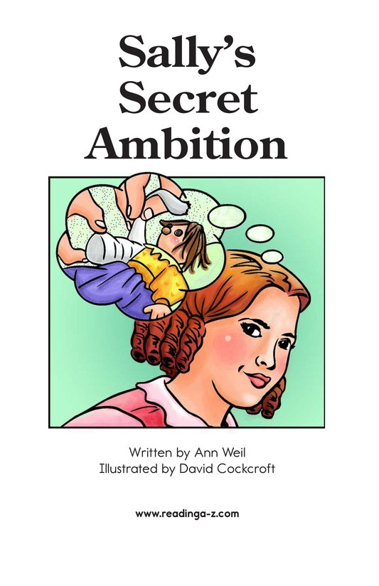 Book Preview For Sally's Secret Ambition Page 2