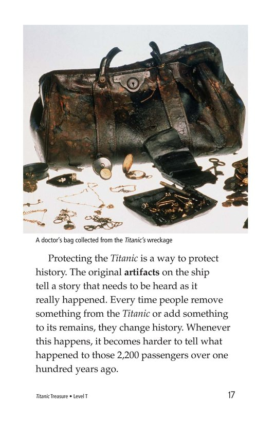 Book Preview For Titanic Treasure Page 17