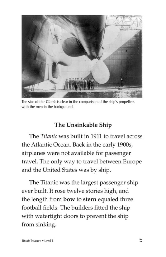 Book Preview For Titanic Treasure Page 5