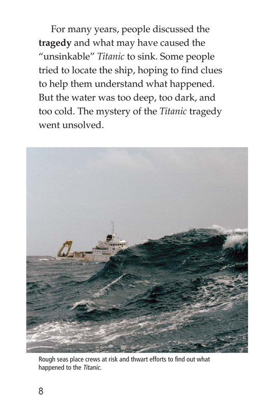 Book Preview For Titanic Treasure Page 8