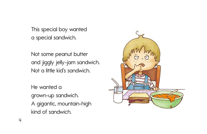 Book Preview For Soup and a Sandwish Page 4