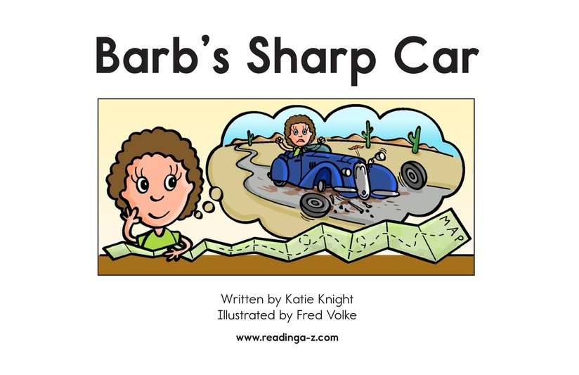 Book Preview For Barb's Sharp Car Page 2