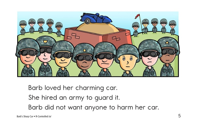 Book Preview For Barb's Sharp Car Page 5