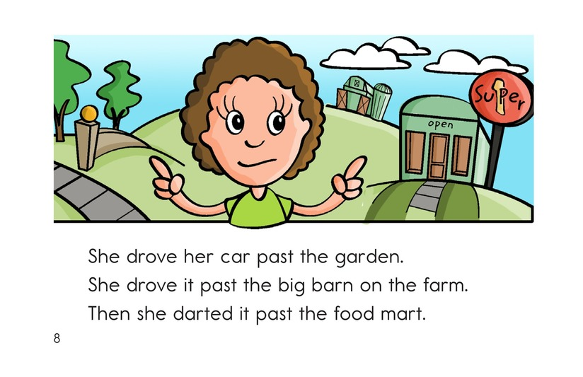 Book Preview For Barb's Sharp Car Page 8
