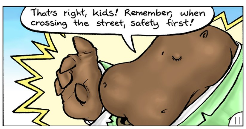 Book Preview For School Days: Mr Hippopotamus and the Street Crossing Adventure Page 13