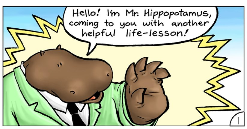 Book Preview For School Days: Mr Hippopotamus and the Street Crossing Adventure Page 3