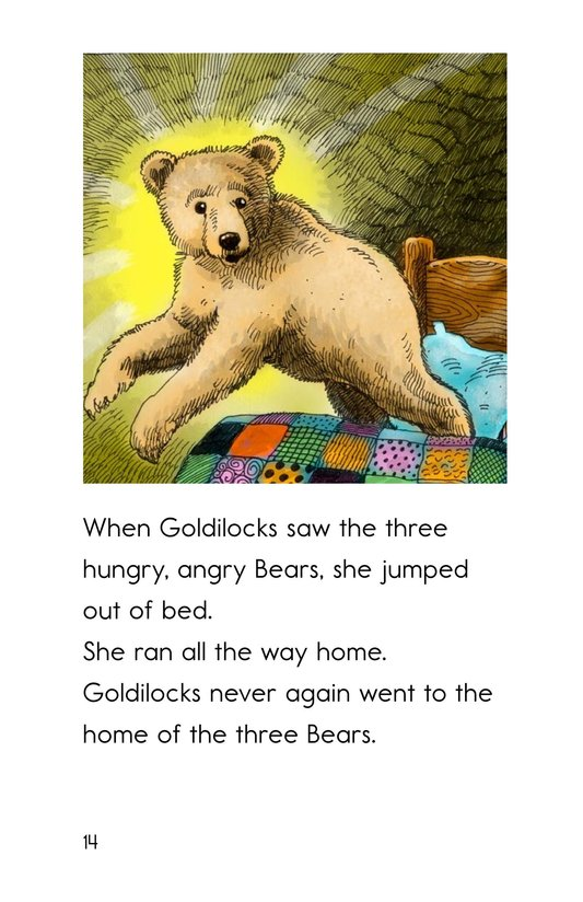 Book Preview For Goldilocks and the Other Three Bears Page 14
