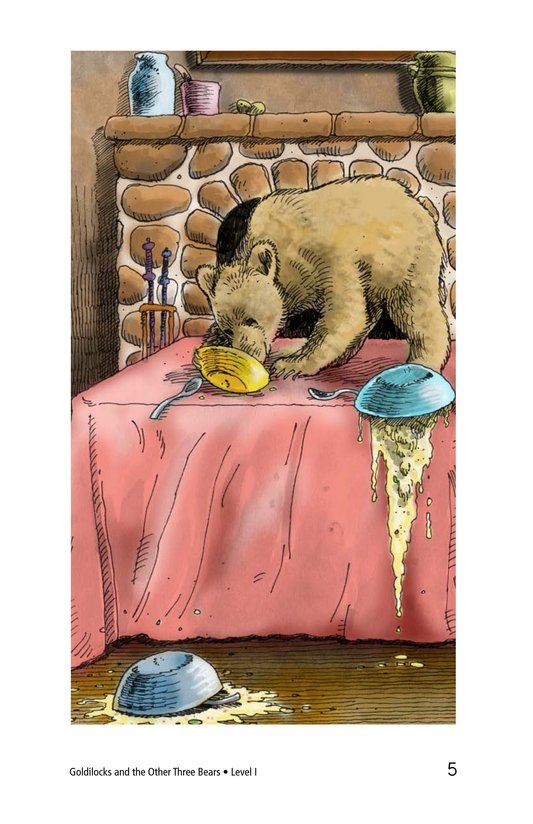 Book Preview For Goldilocks and the Other Three Bears Page 5