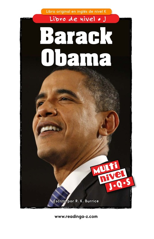 Book Preview For Barack Obama Page 1