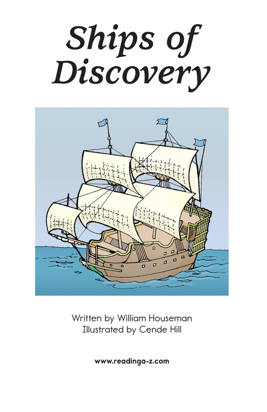 Book Preview For Ships of Discovery Page 1