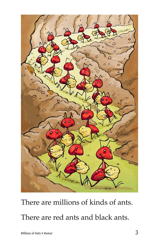 Book Preview For Millions of Ants Page 3