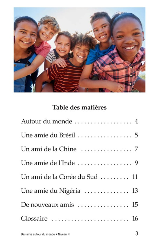 Book Preview For Friends Around the World Page 3