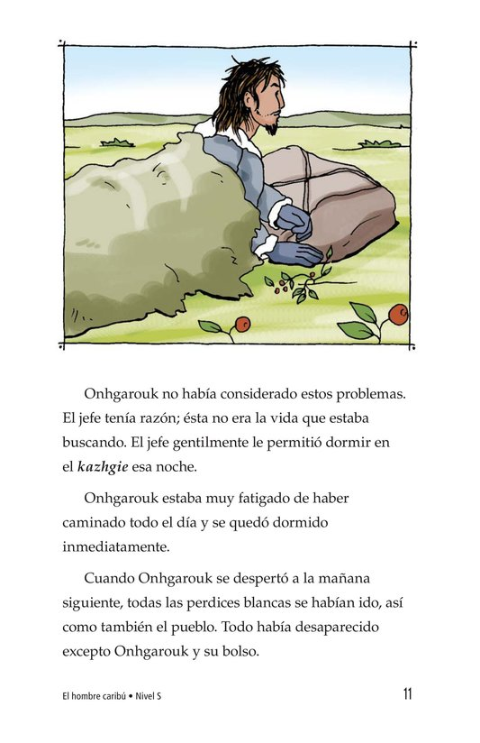 Book Preview For Caribou Man Page 11