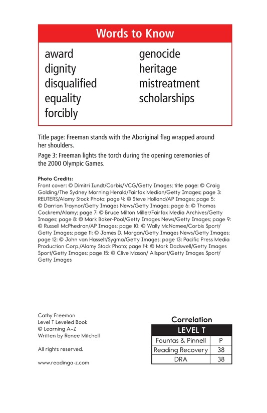 Book Preview For Cathy Freeman Page 2