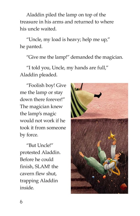 Book Preview For Aladdin and the Wonderful Lamp Page 6