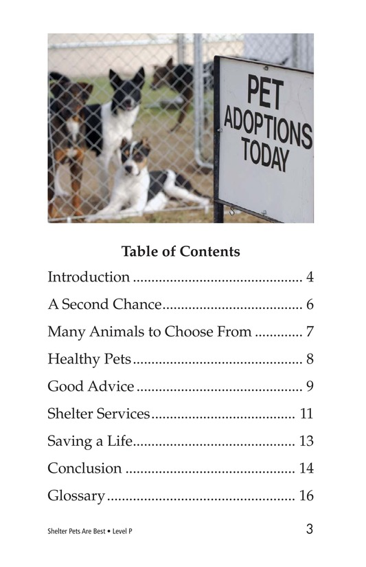 Book Preview For Shelter Pets Are Best Page 3