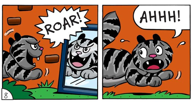 Book Preview For Cat Corner: The Bully Page 10
