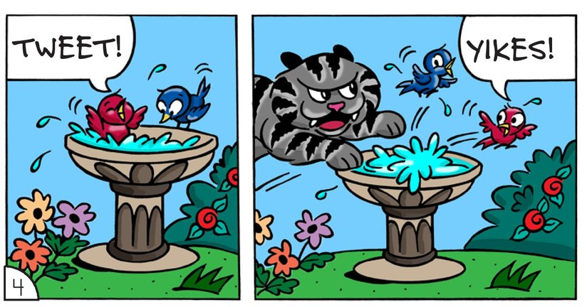 Book Preview For Cat Corner: The Bully Page 6