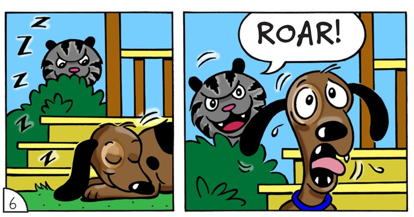 Book Preview For Cat Corner: The Bully Page 8