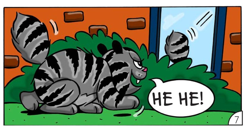 Book Preview For Cat Corner: The Bully Page 9