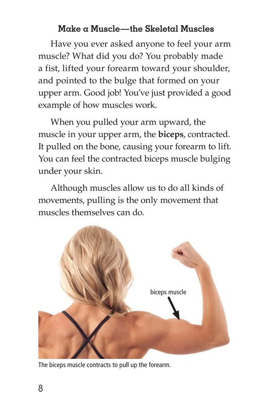 Book Preview For Get Moving! All About Muscles Page 8