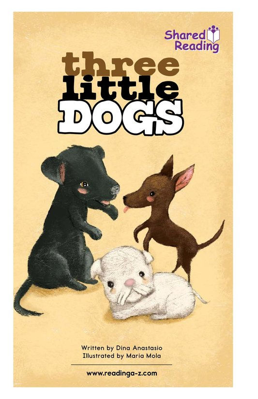Book Preview For Three Little Dogs Page 1