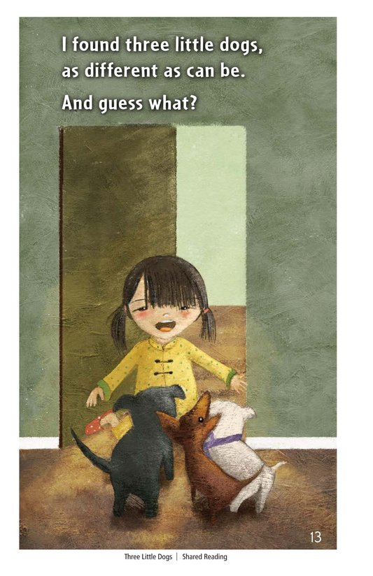 Book Preview For Three Little Dogs Page 13