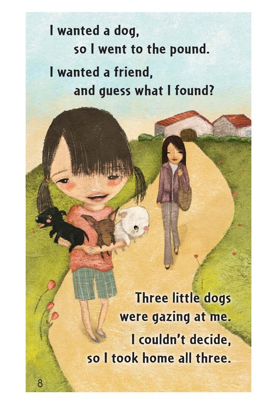 Book Preview For Three Little Dogs Page 8