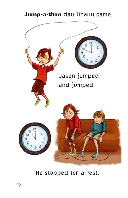 Book Preview For Jason at the Jump-a-thon Page 12