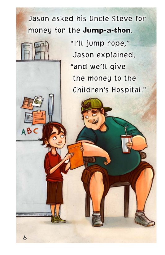 Book Preview For Jason at the Jump-a-thon Page 6