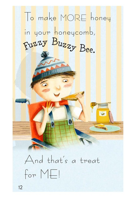 Book Preview For Fuzzy Buzzy Bee Page 12