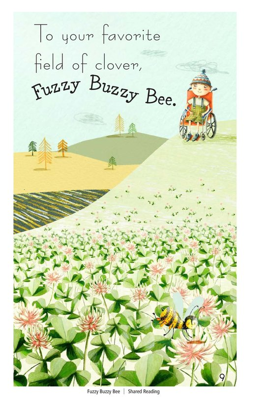 Book Preview For Fuzzy Buzzy Bee Page 9