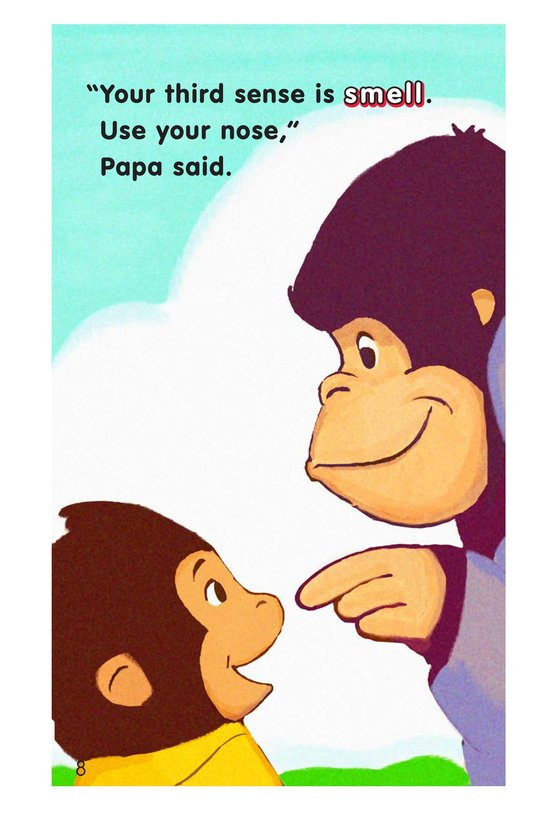Book Preview For Gordy Gorilla and His Five Senses Page 8
