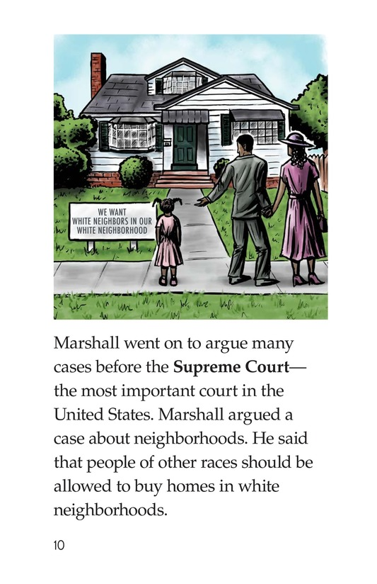 Book Preview For Good for Thurgood! Page 10