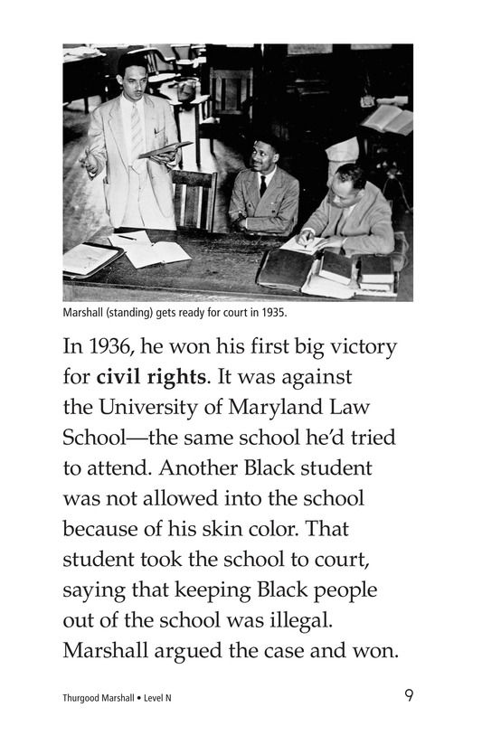 Book Preview For Good for Thurgood! Page 9