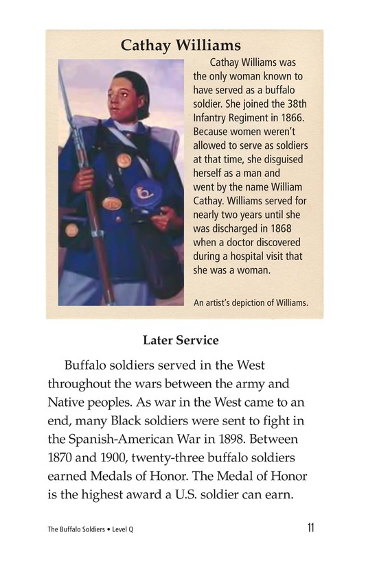 Book Preview For The Buffalo Soldiers Page 11