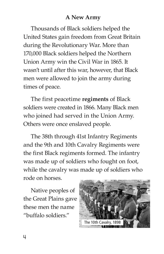 Book Preview For The Buffalo Soldiers Page 4
