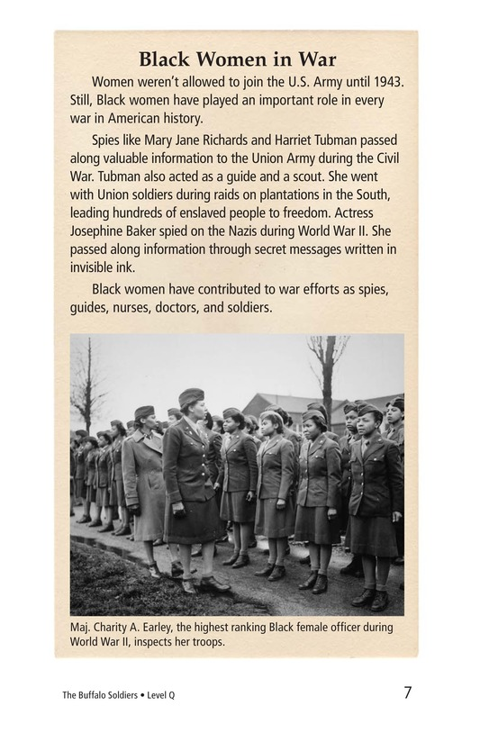 Book Preview For The Buffalo Soldiers Page 7