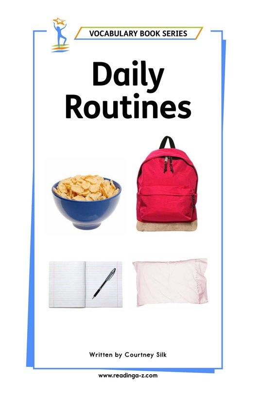 Book Preview For Daily Routines Page 1