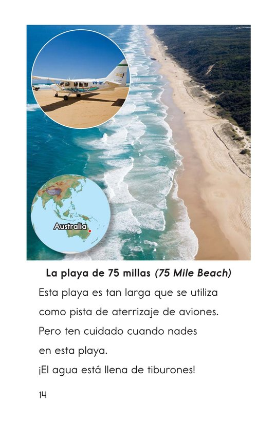Book Preview For Amazing Beaches Page 14