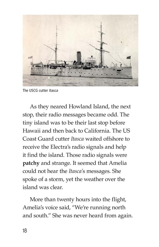 Book Preview For Amelia Earhart: A Legend in Flight Page 18