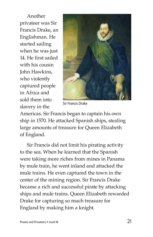 Book Preview For Pirates and Privateers Page 21