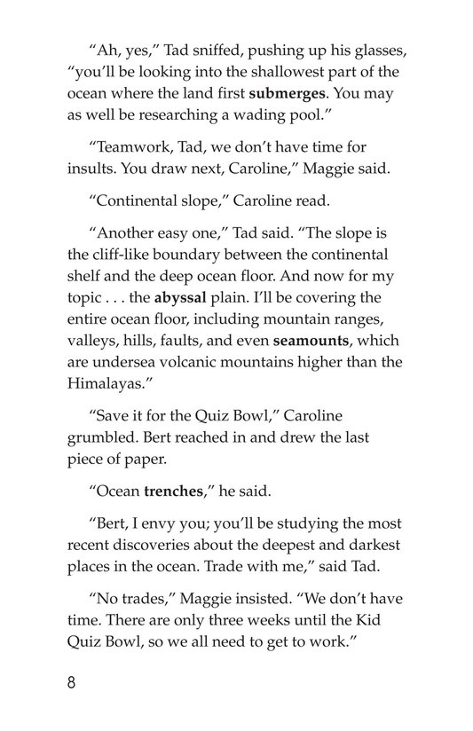 Book Preview For Ocean Quiz Page 8