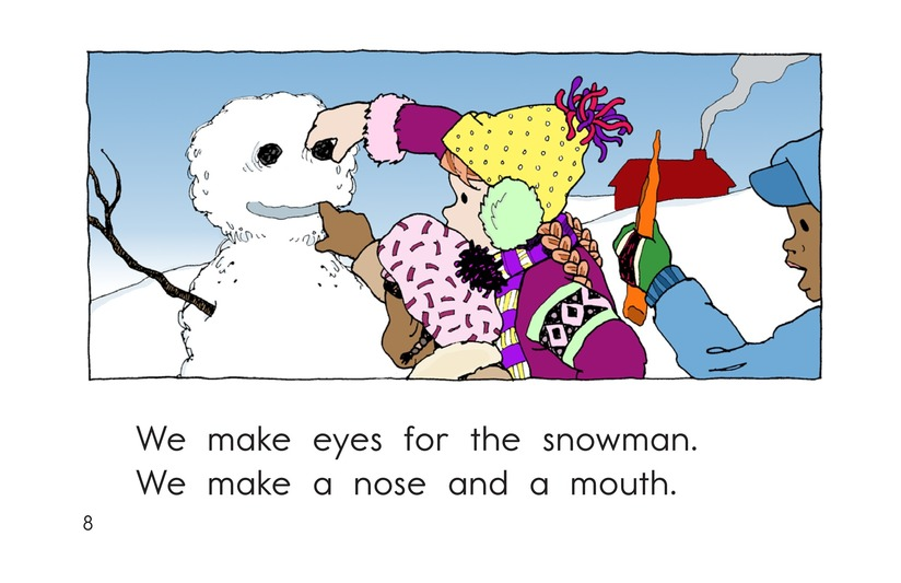 Book Preview For We Make a Snowman Page 8