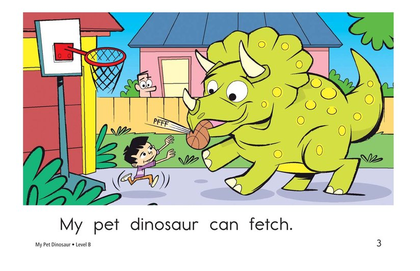 Book Preview For My Pet Dinosaur Page 3
