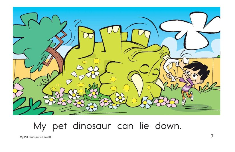 Book Preview For My Pet Dinosaur Page 7
