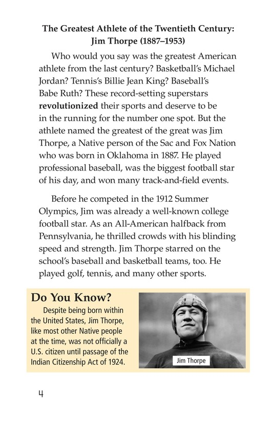 Book Preview For American Sports Legends Page 4