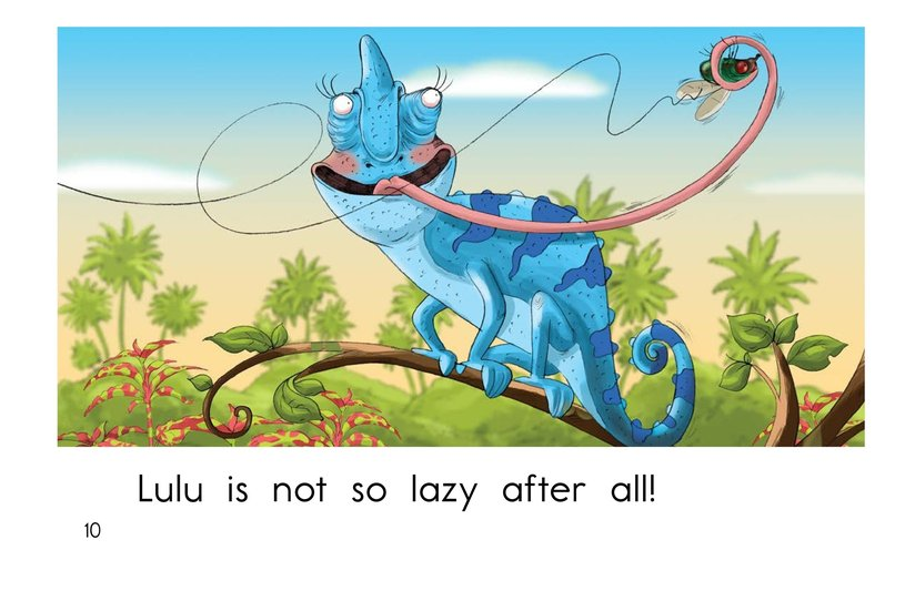 Book Preview For Lazy Lulu Page 10