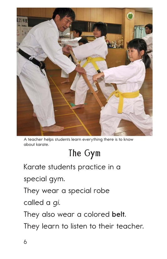 Book Preview For Karate Page 6