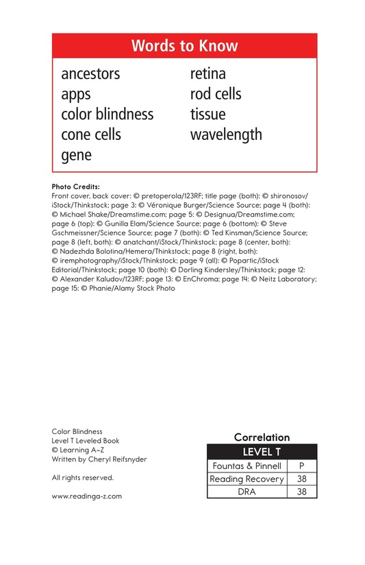 Book Preview For Color Blindness Page 2